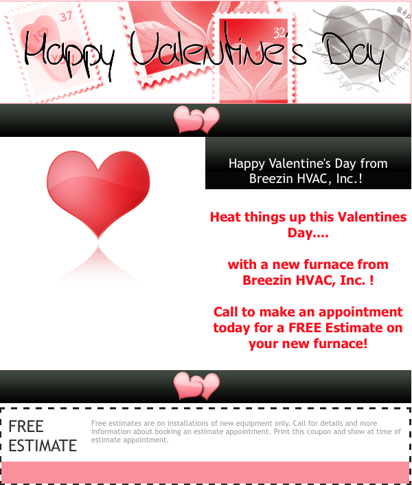 HAPPY VALENTINES DAY Breezin HVAC Inc