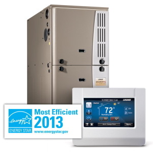 Grouping with High End 90 Coleman Echelon, Luxaire Acclimate, York Affinity Furnaces with T-Stat and Most Efficient 2012 Energy Star