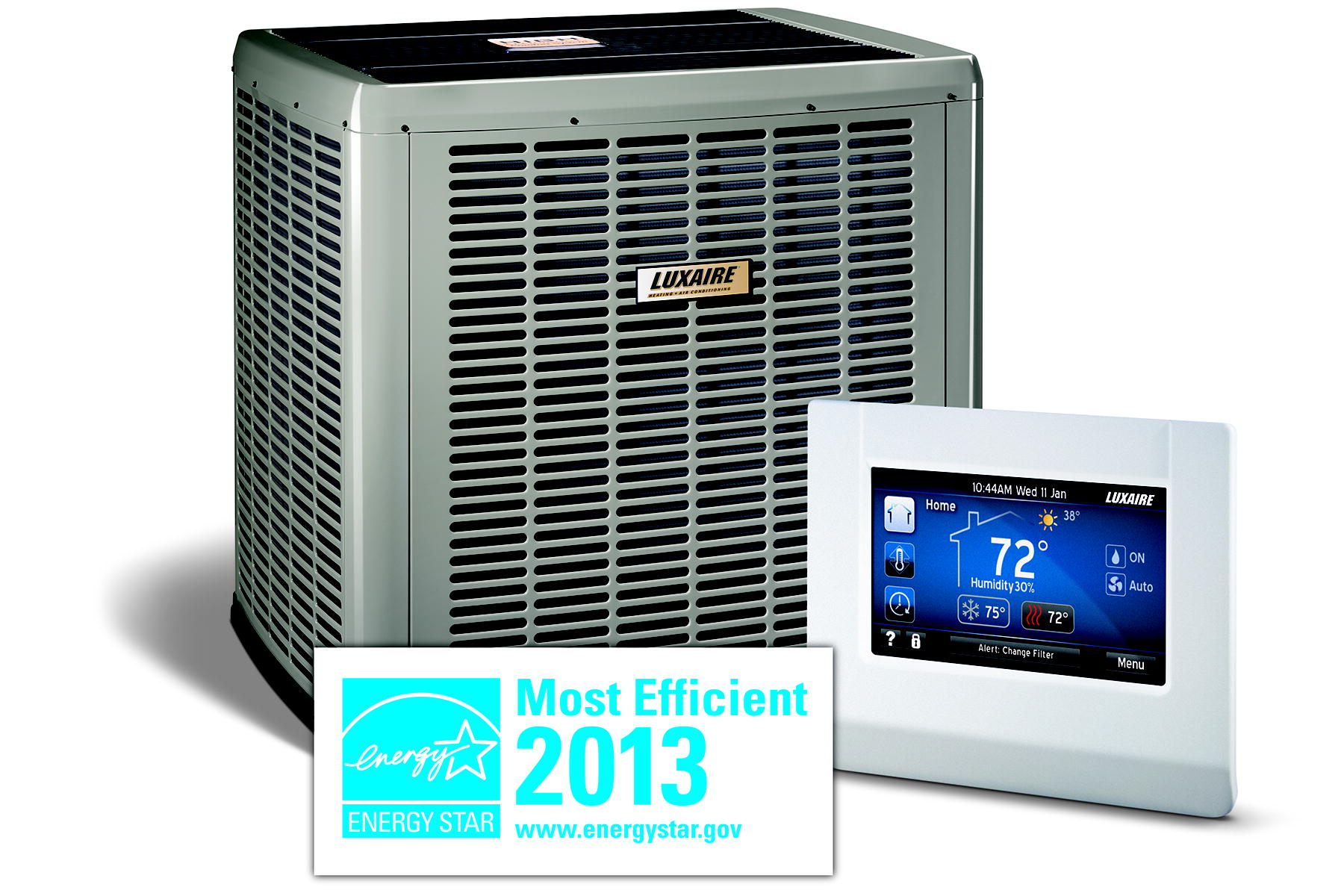 Air conditioning breezin hvac inc for Most efficient heating system